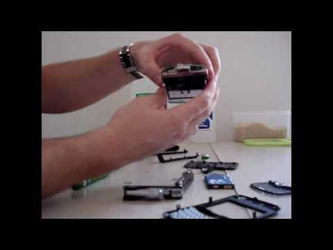 How to disassemble and save your Blackberry after water damage!