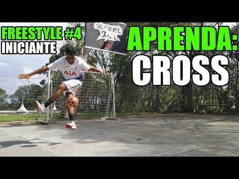APRENDA FUTEBOL FREESTYLE #5: CROSSOVER - INICIANTE