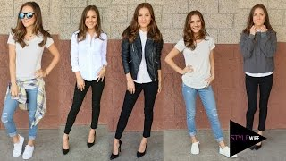 5 Everyday Essentials For Your Wardrobe! (STYLEWIRE)   Hollywire