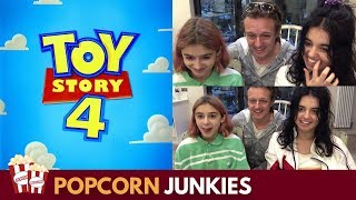 TOY STORY 4 Teaser Trailer 2 - Nadia Sawalha & Family Reaction
