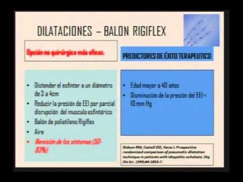 02. Trastornos motores primarios del esófago - Raul Cañadas, MD