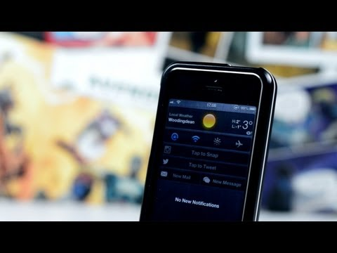 Best iOS 6 / iOS 7 Themes & Tweaks - Cydia Picks #1
