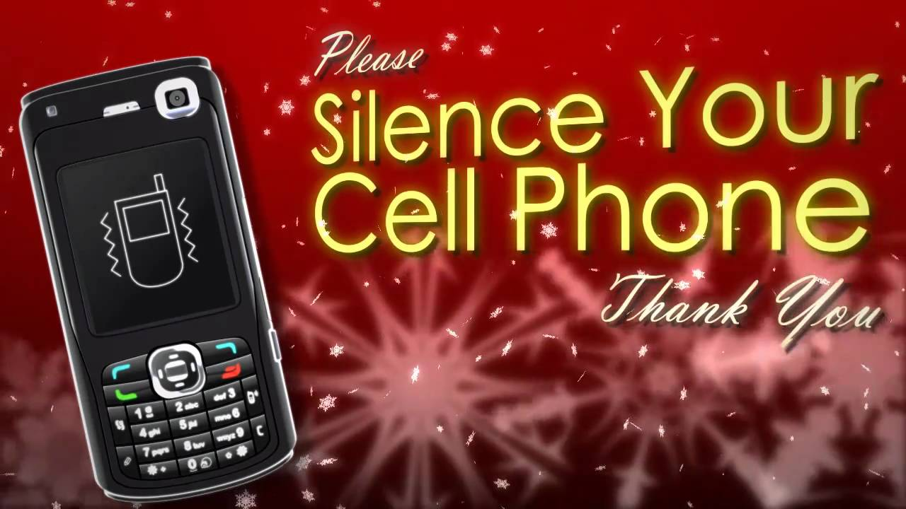 snow silence cell phone motion graphics
