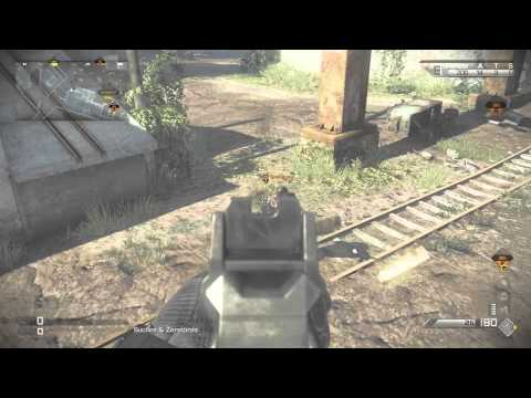 CoD Ghost Glitch (how to get Laser on every weapon, godmode, invisebilety) (German)
