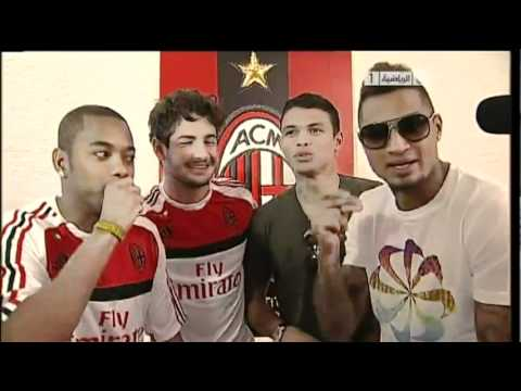 Boateng fa RAP con Pato, Thiago Silva e Robinho Music Videos