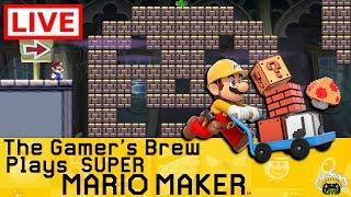 🔴Super Mario Maker [Live] Getting Spoopy in the Mushroom Kingdom