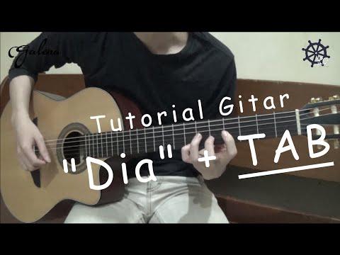 Belajar Gitar (Dia - Anji)+TAB