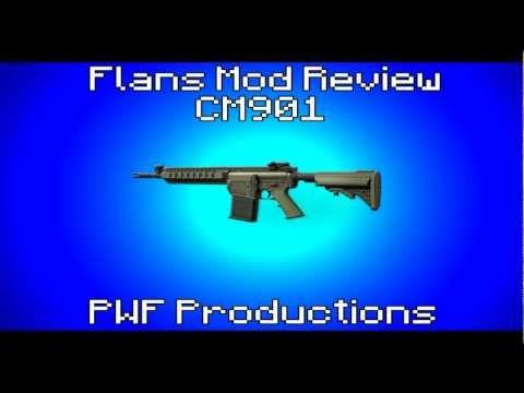 Flans Mod Review - CM901 - MW3 Content Pack - PWF Productions