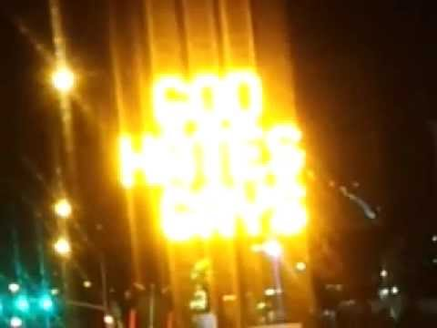Hacked electronic sign in Provo reads anti-gay message