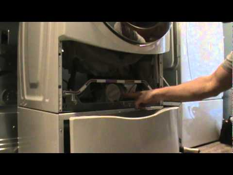 front load washer won't spin out clothes, pump cleanout | www.goodappliancesuperstore.com