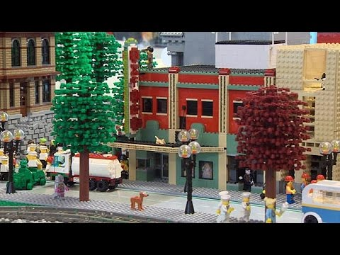 Halifax built out of Lego