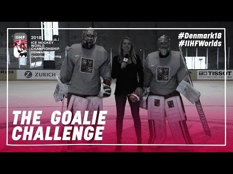 Czech Goalie Goals: Francouz vs. Rittich | #IIHFWorlds 2018
