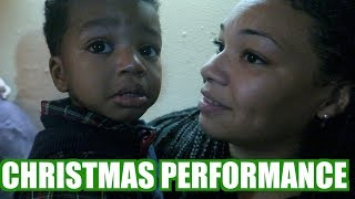 JORDANS & ADAMS CHRISTMAS PLAY  DAYCARE PERFORMANCE FOR CHRISTMAS VLOGMAS DAY 14 LIFE IN JAPAN