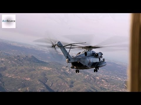 Marines CH-53E Helicopter Assisting with Southern California Wildfires | AiirSource