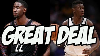 The Brooklyn Nets Resigned Caris Levert For Nothing