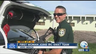 First woman joins IRC SWAT Team