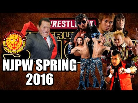 New Japan Pro Wrestling - Spring 2016 In Review | The Truepenny Show