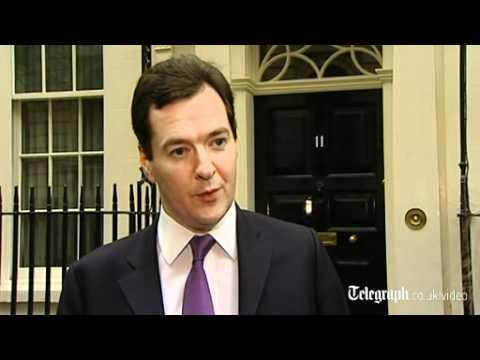 George Osborne: 'disappointed but not surprised' by GDP fall