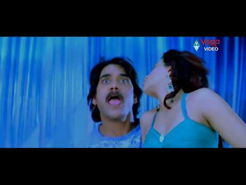 Greeku Veerudu - Nagarjuna - Boss Movie Songs - Nachinde Chesey - Nagarjuna Nayantara - Full Hd video