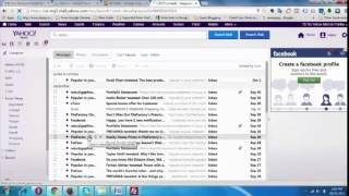 Delete All Emails from Yahoo Inbox - Bangla Tutorial