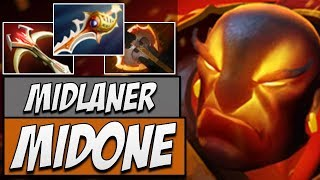 Secret.Midone Ember Spirit - 7622 MMR | Dota Gameplay