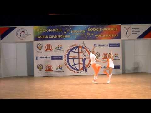 Carolin Scherer & Benjamin Federl - Weltmeisterschaft 2012