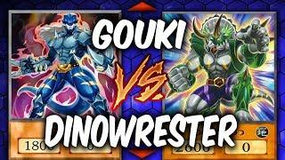 Yugioh! TOP WRESTLER SHOWDOWN!! DINO-WRESTLERS VS GOUKI!
