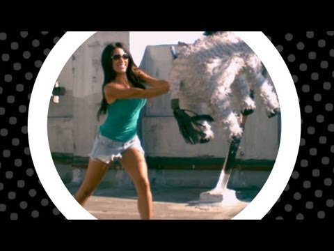 Slo-As-A-Mofo Sho with Amber Lee Ettinger vs. a Piñata
