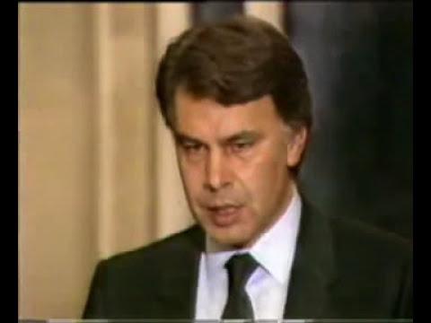 Cabecera y titulares del Telediario en 1985