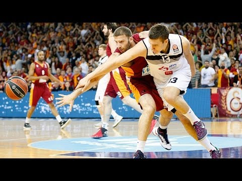 Highlights: Galatasaray Liv Hospital Istanbul-Partizan NIS Belgrade