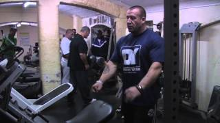 Dorian Yates and Evan Centopani