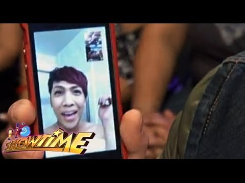 Watch : Vice Ganda On It's Showtime Via Video Chat! video