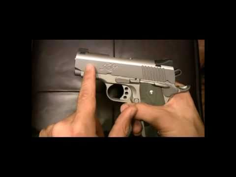 Kimber 1911 Pistols: Ultra Carry TLE ll (stainless)+takedown