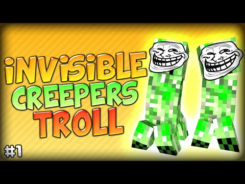 HILARIOUS INVISIBLE CREEPER TROLL MADNESS - Minecraft Modded Parkour Anti City 2 (Starminer Mod) klip izle