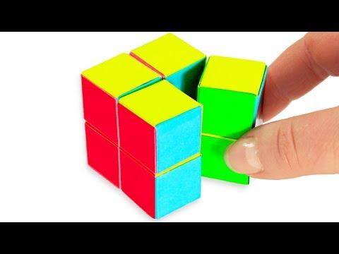ОРИГАМИ из бумаги | Кубики Трансформеры