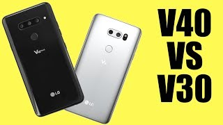 LG V40 vs LG V30: Let's chat about a one-year upgrade...