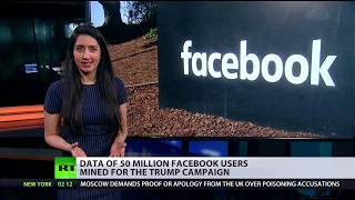 Largest leak in Facebook history Data of 50 mn users mined for Trump campaign