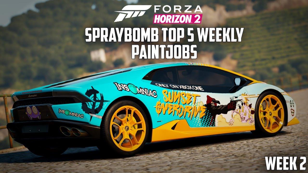 Best Forza Horizon  Paint Jobs