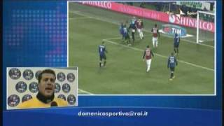 INTER - MILAN 2-0 - HIGHLIGHTS - Ampia sintesi e commenti.
