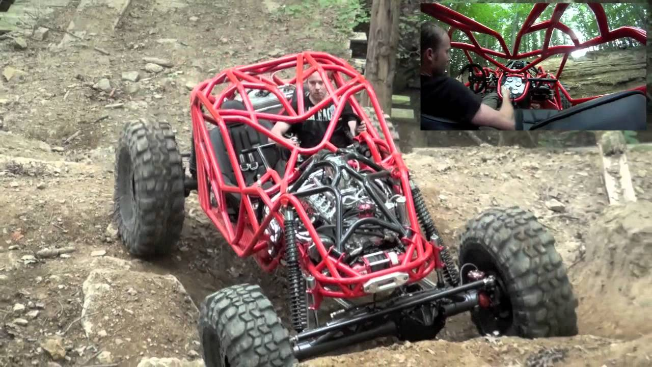 Tim Cameron On Axle Hill In New Buggy Showtime At