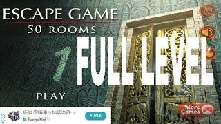Escape Game 50 Rooms 1 Walkthrough