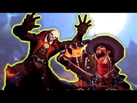 NEW SKINS! Overwatch Halloween Terror 2017!
