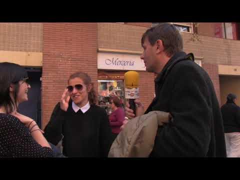 AVV La Salut con el comercio de barrio Sant Feliu