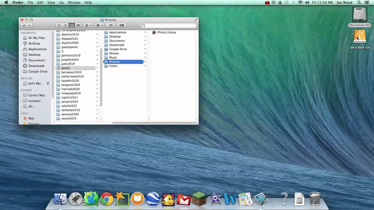 Move the iPhoto Library to an External Hard Drive - OSXD aily Copy iphoto library to external hard drive