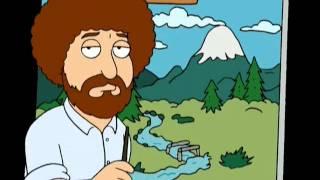 Family guy - Bob Ross
