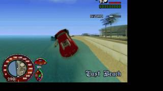 GTA-San Andreas VIP Mod v.3 Buggati Veyron 403 km/h Stunt