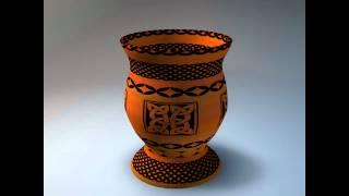 Let's Create Pottery pots by Suzie Giles Designer