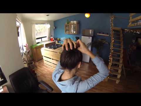 Como hacer un chongo (peinado rápido y fácil)