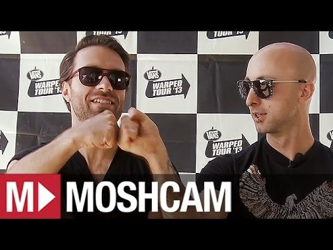 Simple Plan Talk Best Shows, Fans And fisting (at Vans Warped) | Moshcam video