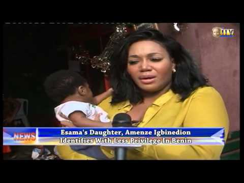 Esama's Daughter, Amenze Igbinedion Identifies With Less Privilege In Benin